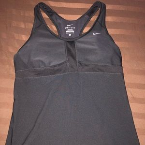 Nike Dri-Fit Workout Tank Top - Black